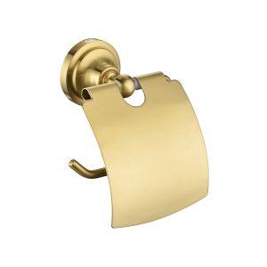 ที่ใส่กระดาษชำระ พร้อมฝาปิด MATT GOLD